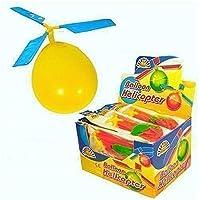 18 x Bambini Elicottero Balloon Volante Kit Accessori Pacchetto Regalo Festa Interno Esterno Giocattolo