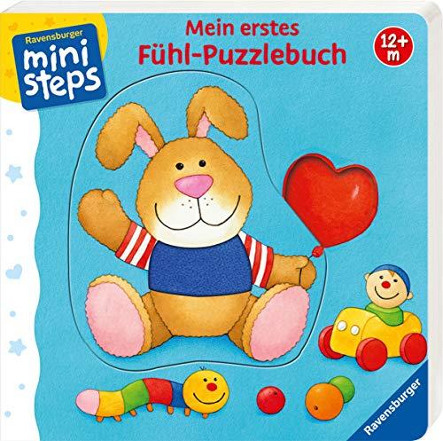 Mein erstes Fühl-Puzzlebuch: Ab 12 Monaten (ministeps Bücher) (Sprechen Puzzle)