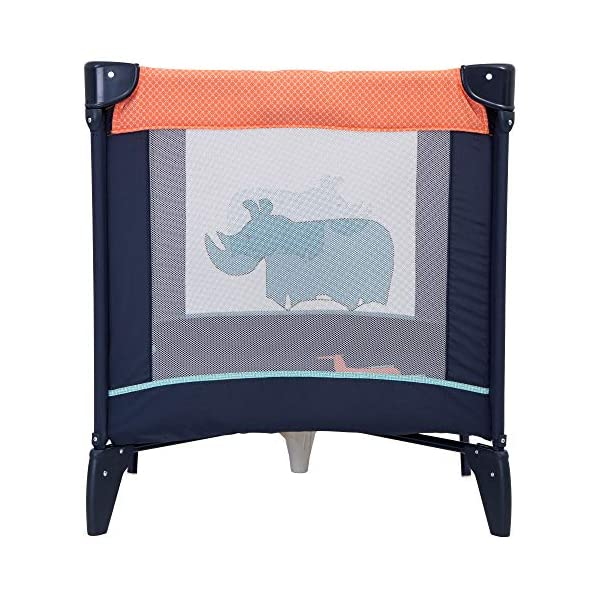 Graco Compact Playpen, Caravan Graco Easy to assemble playpen for all your travel needs; from birth to approx. 3 years Signature graco push-button fold makes closing your playpen quick and hassle-free Fully padded top rails 2
