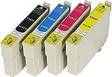 4 XL Druckerpatronen mit CHIP und Füllstandanzeige für Epson Expression Home XP-102, XP-202, XP-205, XP-212, XP-215, XP-225, XP-30, XP-305, XP-312, XP-315, XP-322, XP-325, XP-402, XP-405, XP-405WH, XP-412, XP-415, XP-422, XP-425