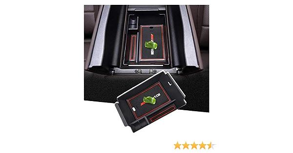 Shaohao Mittelkonsole Armlehne Aufbewahrungsbox Für Mercedes Benz Gle W167 Suv 2020 Mittelarmlehne Organizer Tray Multifunktionaler Handschuhfach Küche Haushalt