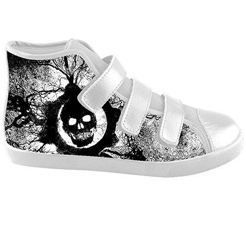 Dalliy Cool Skull Kids Canvas shoes Schuhe Footwear Sneakers shoes Schuhe D