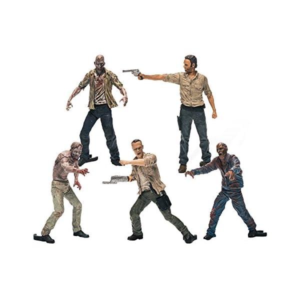 Walking Dead Tv Building Set 5 Figure Pa 1