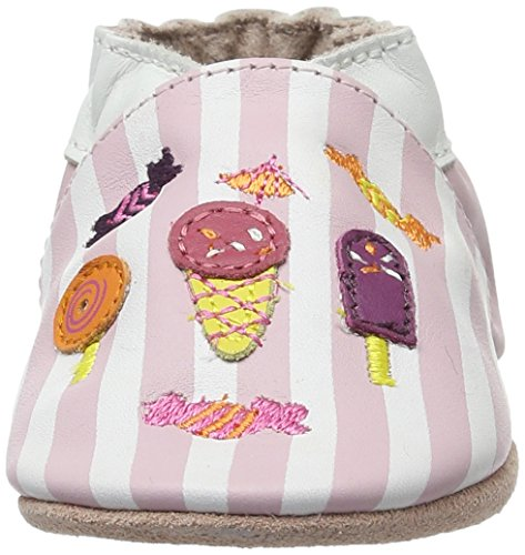 Robeez Candy Shop, Chaussons pour enfant bébé fille Rose