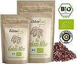 Kakaonibs Roh Bio Vegan (500g) ohne Zuckerzusatz Kakao Nibs aus der Criollo Kakao-Bohne vom-Achterhof