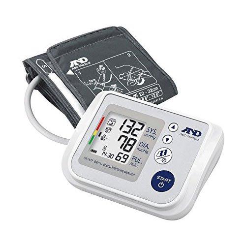 A&D Medical UA-767F Misuratore di Pressione da Braccio Digitale, Clinicamente Validato