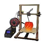 Aibecy Creality CR-10S 3D DIY Drucker 300 * 300 * 400mm Druckgröße mit Aluminiumrahmen & Filament Detektor umfasst 200g Filament Unterstützt PLA / ABS / TPU / Holz / Carbon Filamen+Aibecy Tuch (Orange)