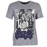 Eleven Paris Ghost T-Shirts & Poloshirts Herren Grau - M - T-Shirts