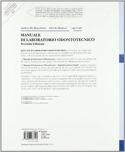 Zoom IMG-1 manuale di laboratorio odontotecnico per