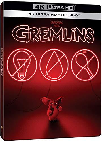 Gremlins 4K Steelbook, Blu-ray 4K UHD + Blu-ray, Zavvi exklusiv mit deutschem Ton auf beiden Discs, Uncut, Regionfree