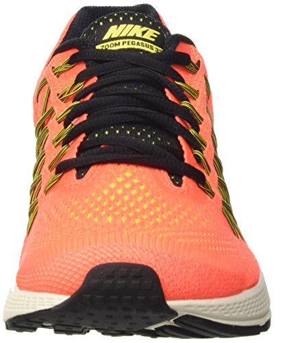 Nike Air Zoom Pegasus 32, Chaussures de Running Entrainement Femme Arancione (Hyper Orange/Blk-Vlt-Opt Yllw)