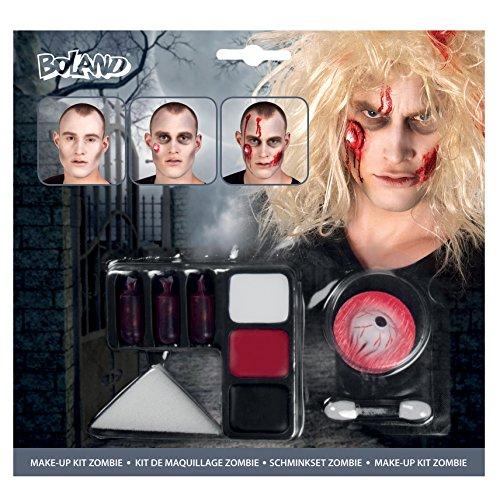 ombie Taglia Unica Bianco/Rosso/Nero (Unheimlich Zombie Make Up)
