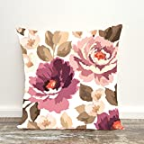 #4: Aart Floral Pattern printed Cushion Cover 16x16 by Aart Store