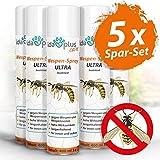 Ida Plus - Wespenspray Ultra gegen Wespen - Bekämpft alle Wespen & Wespennester in Haus, Garten, Dachböden - mit Sofortwirkung - Insektenvernichter zur Wespenbekämpfung - Anti Wespenspray