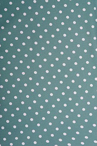 Hell Bunny JENNIFER Punkte Polka Dots 50s Vintage Dress KLEID Rockabilly Grün
