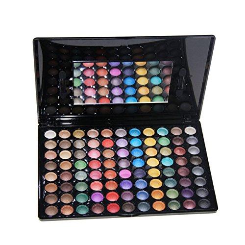 DISINO Palette Ombretti,Collezione Audace, Brillante e Vivace, Kit Set Makeup Tavolozza Ombretti Eyeshadow (Palette 88 Ombretti) - Pattern 3