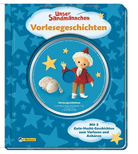 Unser Sandmännchen: Vorlesegeschichten mit CD: Mit 5 Gute-Nacht-Geschichten zum Vorlesen und Anhören