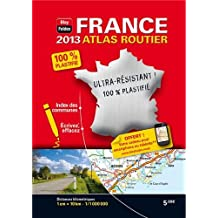 France - Mini Atlas Plastifié 2013 - Echelle : 1/1 000 000