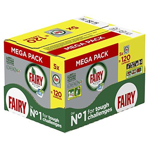 fairy spuelmaschinentabs Fairy Platinum Spülmaschinen-Tabs (5x 24Stück)