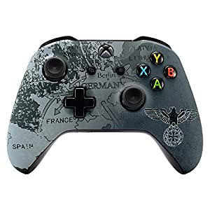 eXtremeRate Xbox One S X Schutzhülle Obere Case Hülle Cover Oberschale Skin Housing Kit Schale Gehäuse Shell für Xbox One S/Xbox One X Controller