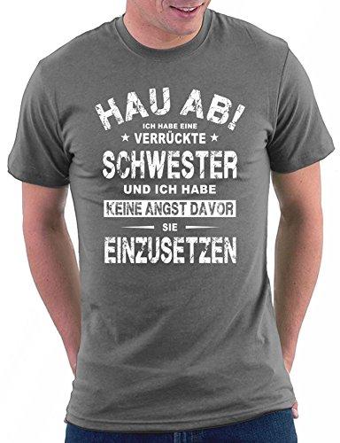 Hau Ab ! T-shirt Darkgrey