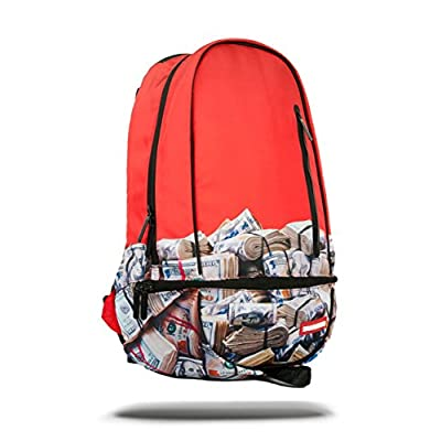 Sprayground - Red Money Rold Backpack - mens-carry-all-organiser-bags