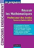 Image de Réussir les mathématiqueS : Professeur des écoles. Épreuve d'admis