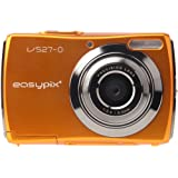 Easypix V527 Candy Digitalkamera (5 Megapixel, 8-fach digital Zoom, 6,9 cm (2,7 Zoll) Display) orange