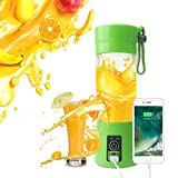 #9: Portable USB Juicer Blender 380ml Bottle with rechargeable power bank & USB cable