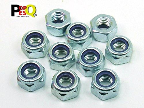 10/pieza tuercas hexagonales M20/niedr Forma DIN 439/Acero Inoxidable A2
