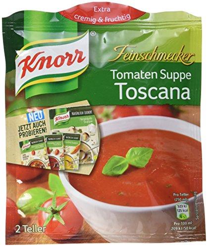 Knorr Feinschmecker Tomaten Suppe Toscana 2 Teller (Tomaten-suppe)