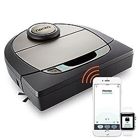 Neato Robotics Botvac D7 Connected - Robot aspirapolvere automatico cattura peli animali con mappatura laser e Wi-Fi - Alexa e Google Home Friendly