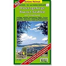 Doktor Barthel Wander- und Radwanderkarten, Osterzgebirge, Kurort Seiffen und Umgebung (Schöne Heimat)