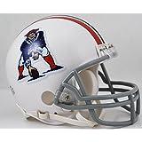 Riddell NFL Mini Throwback Helm New England Patriots 1965-81 Mini Helmet