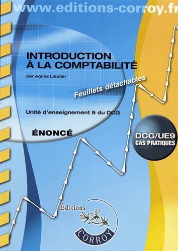 Introduction  la comptabilit nonc: UE 9 du DCG