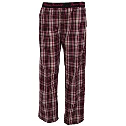 Forever - Pantalón de pijama a cuadros para mujer (L/Rosa)