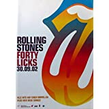 ROLLING STONES - 2002-09-02 - Promoplakat - Fourty Licks
