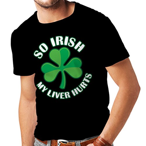 hirt St. Paddy's Day sayings shirts,So Irish . (XX-Large Schwarz Mehrfarben) (Patric Star)