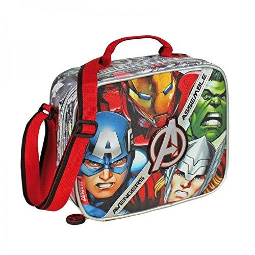 Marvel avengers - borsa porta pranzo e borraccia