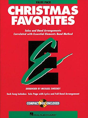 Essential Elements Christmas Favorites: Value Pak (37 Part Books, Conductor Score & CD) -