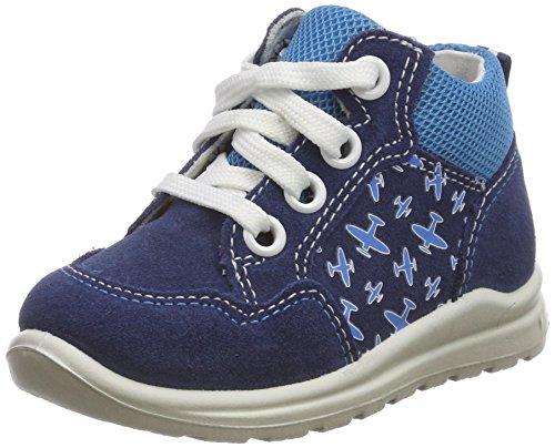 Superfit Baby Jungen Mel Sneaker, Blau (Water Kombi), 22 EU