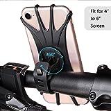 Kidshobby Fahrrad Handyhalterung Handy Halter mit 360° Drehbare Verstellbar 4-6 Zoll Geräte für Smar