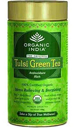 Organic India The Tulsi Green Tea- 100 g