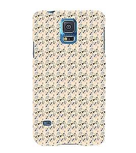 HiFi Designer Phone Back Case Cover Samsung Galaxy S5 :: Samsung Galaxy S5 G900I :: Samsung Galaxy S5 G900A G900F G900I G900M G900T G900W8 G900K ( Girly Colorful Pattern Design funky )