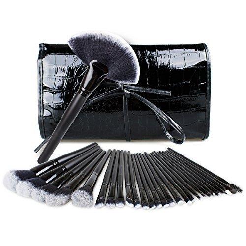 Pinceaux Maquillage Cosmétique, Matrixsight Professionnel 32 pcs Kit Cosmétique Brush Beauté Maquillage Brosse Makeup Brushes Cosmétique Fondation avec Sac pour Tous Types de Maquillage, Cadeau
