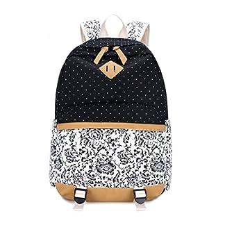 517q8bXY5QL. SS324  - Umily Mochilas Escolares Mujer Backpack Mochila Escolar Lona Grande Unisexo Bolsa Casual Juvenil Chica