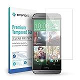 smartect HTC One M8 / M8s Panzerglas Folie - Displayschutz mit 9H Härte - Blasenfreie Schutzfolie - Anti Fingerprint Panzerglasfolie