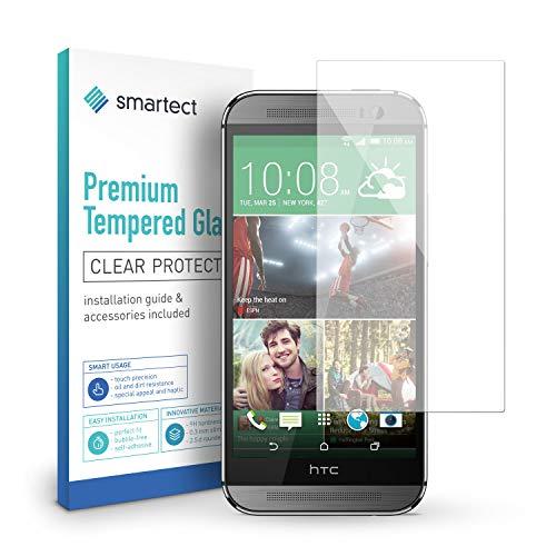 smartect Panzerglas für HTC One M8 / M8s - Bildschirmschutz mit 9H Härte - Blasenfreie Schutzfolie - Anti Fingerprint Panzerglasfolie