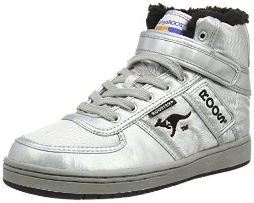 KangaROOS - Moonwalker, Sneaker alte Donna Argento (Silber (silver/blk 950))