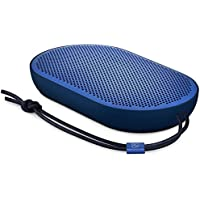 Altoparlante Bluetooth portatile Beoplay P2 di B&O PLAY by Bang & Olufsen con microfono incorporato, Blu Royal